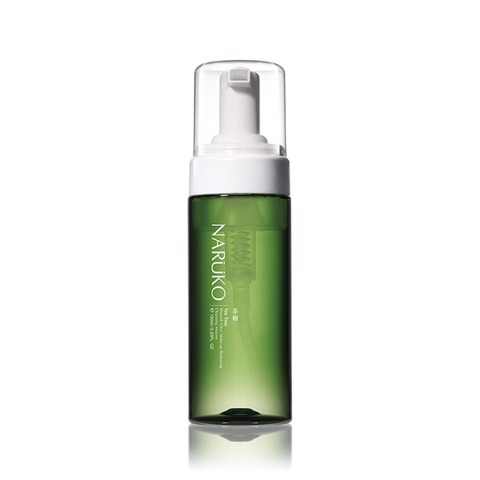 Tẩy trang dạng bọt Naruko Tea Tree Blemish Clear Make-up Removing Cleansing Mousse