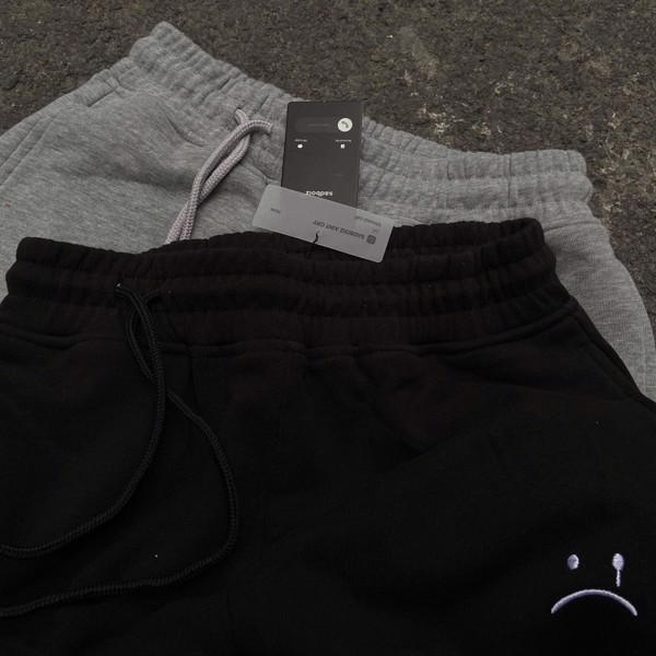 MONOGRAM PANTS - GRAY