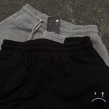 MONOGRAM PANTS - BLACK