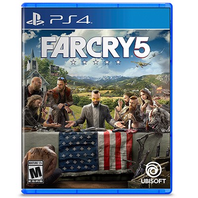 Đĩa Game PS4 Far Cry 5 Hệ US