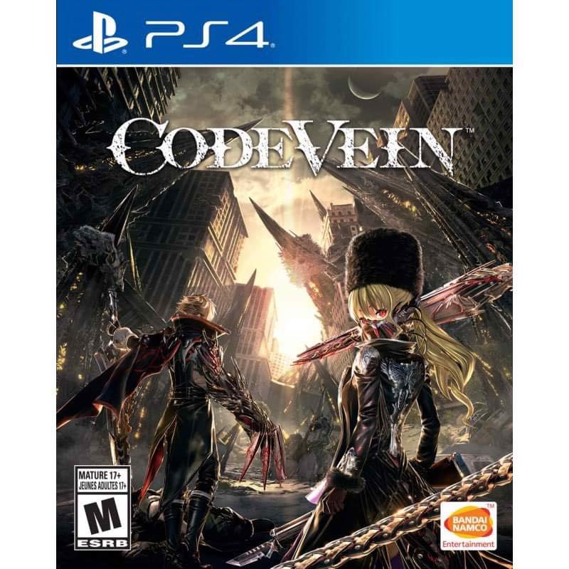 Đĩa Game PS4 CodeVein Hệ US