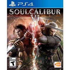 Đĩa Game PS4 SoulCalibur Hệ US
