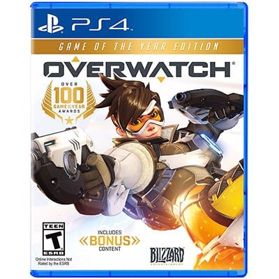 Đĩa Game PS4 Overwatch Hệ US