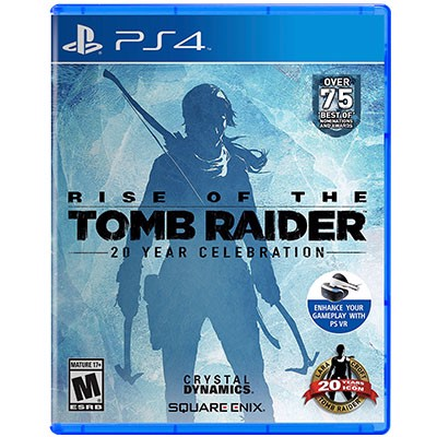 Đĩa Game PS4 Rise of the Tomb Raider 20 Year Celebration Hệ US