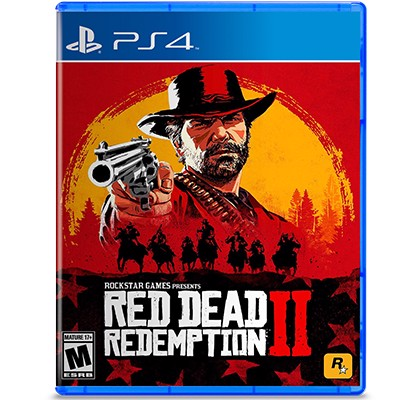 Đĩa Game PS4 Red Dead Redemption 2 Hệ US