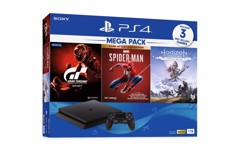 Máy PS4 Slim 1TB MEGA PACK 2020 KÈM 3 GAME HOT