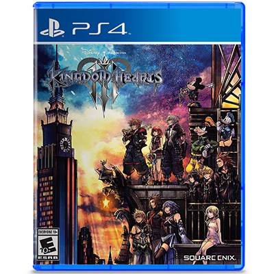 Đĩa Game PS4 Kingdom Hearts III Hệ US