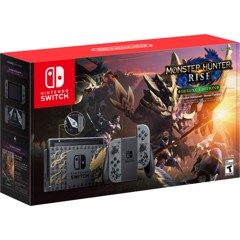 Máy Nintendo Switch MONSTER HUNTER RISE Deluxe Edition
