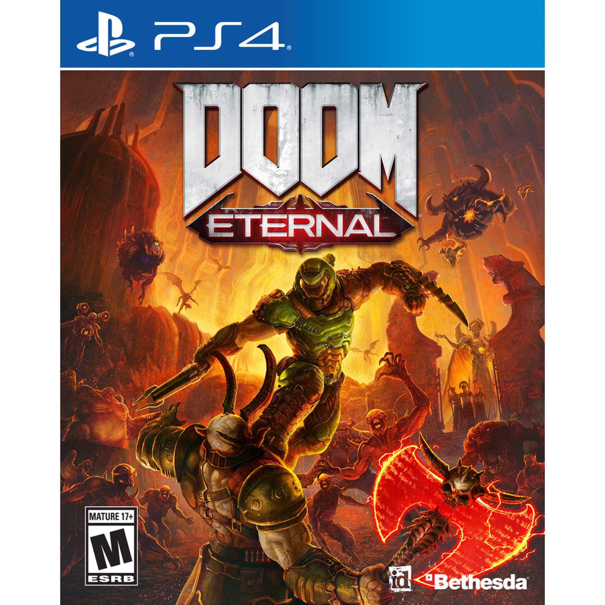 Đĩa Game PS4 Doom Eternal