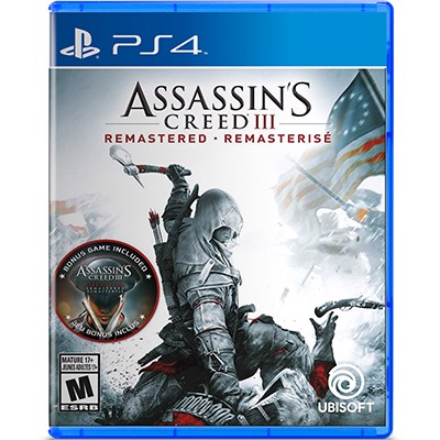 Đĩa Game PS4 Assassin's Creed III: Remastered Hệ US