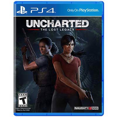 Đĩa Game PS4 Uncharted The Lost Legacy Hệ US