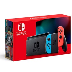 Máy Nintendo Switch with Neon Blue and Neon Red Joy‑Con