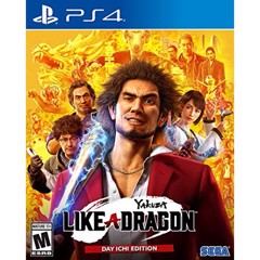 Đĩa Game PS4 Yakuza: Like a Dragon