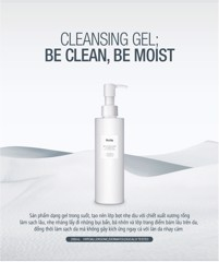 GEL Rửa Mặt Huxley Secret of Sahara Cleansing Gel, Be Clean, Be Moist 200ml (Chai)