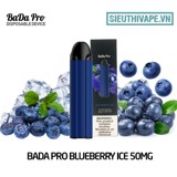 BaDa Pro Blueberry Ice 50mg - Disposable Pod dùng 1 lần