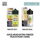 Juice Head Extra Freeze Peach Pear 100ml - Tinh Dầu Vape Mỹ