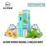Gcore Rodeo Model X Melon Mint Disposable - Vape Pod Dùng 1 Lần
