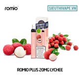 Romio Plus 20mg Lychee - Disposable Pod dùng 1 lần