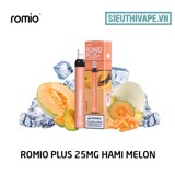 Romio Plus 25mg Hami Melon - Disposable Pod dùng 1 lần