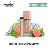 Romio Plus 25mg Guava - Disposable Pod dùng 1 lần
