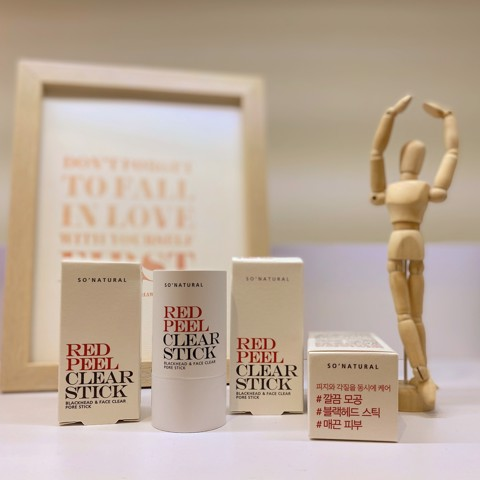 Thanh lăn Red Peel Clear Stick