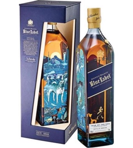 Johnnie Walker Blue Year of Dog 75cl