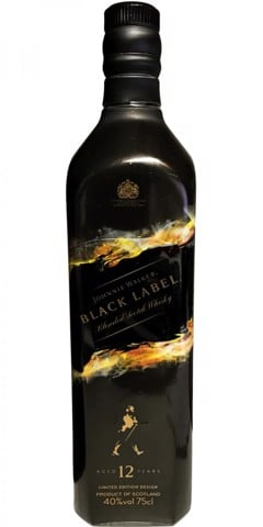 Johnnie Walker Black 75cl limited edition (Shadow II)