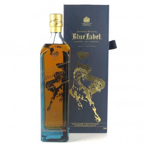 Johnnie Walker Blue Year Horse 75cl