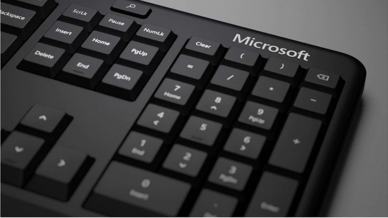 MICROSOFT - ERGONOMIC KEYBOARD