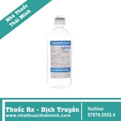 SODIUM 0.9% NHỰA C/500ML