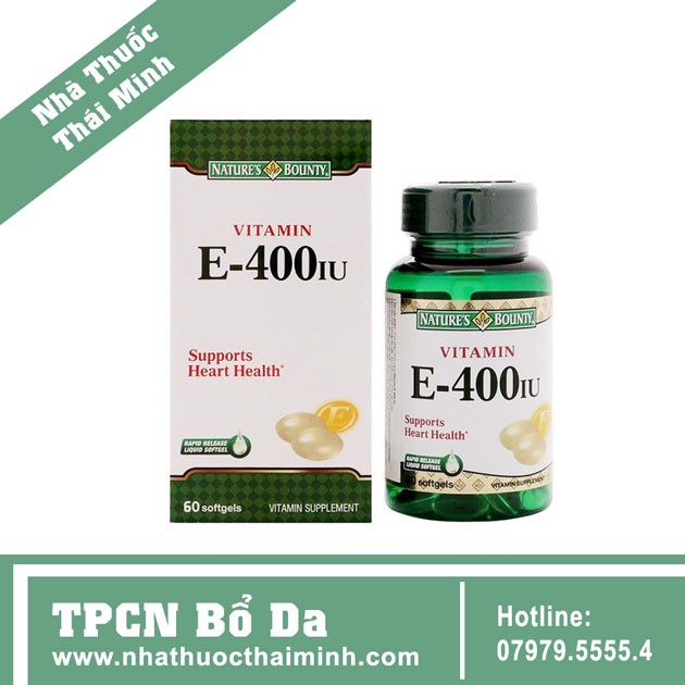 Nature's Bounty Vitamin E 400IU