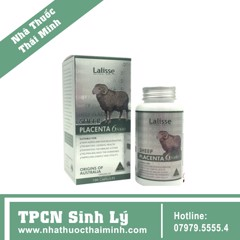 Nhau thai cừu Lalisse sheep placenta 100v