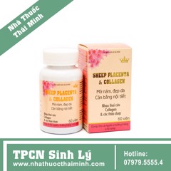 Kingphar Sheep Placenta & Collagen Nhau Thai Cừu