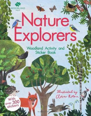 The Woodland Trust: Nature Explorers Woodland Activity and Sticker Book