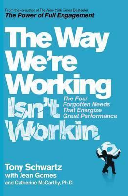 THE WAY WE'RE WORKING ISN'T WORRKING
