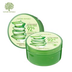 Gel Giữ Ẩm Chiết Xuất Lô Hội Nature Republic Soothing & Moisture 92% Aloe Vera 300ml