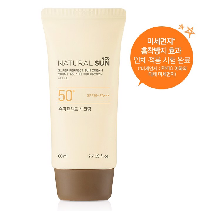 Chống nắng Thefaceshop Natural Sun Eco Super Perfect Sun Cream 50ml