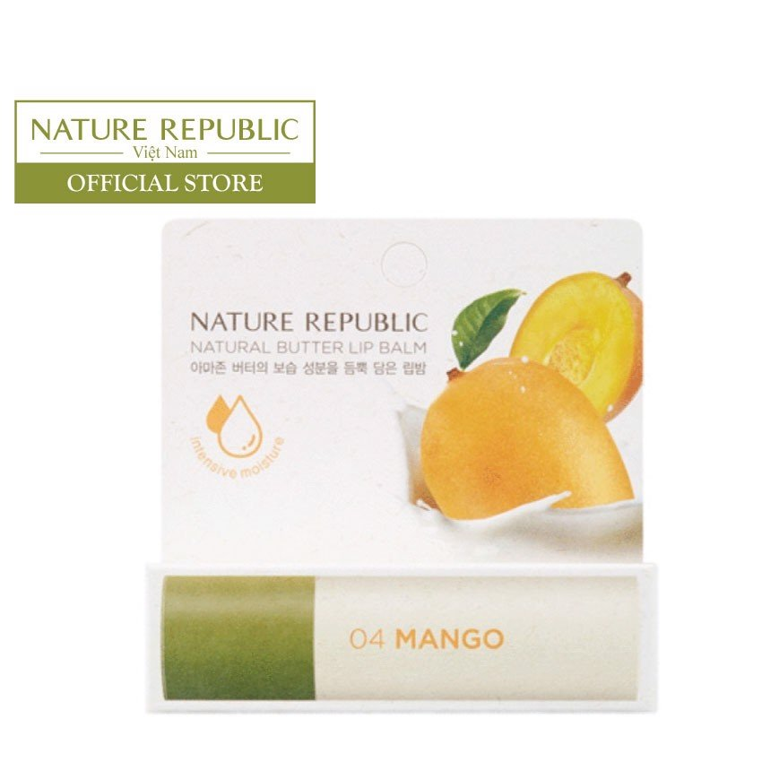 NATURAL BUTTER LIP BALM MANGO