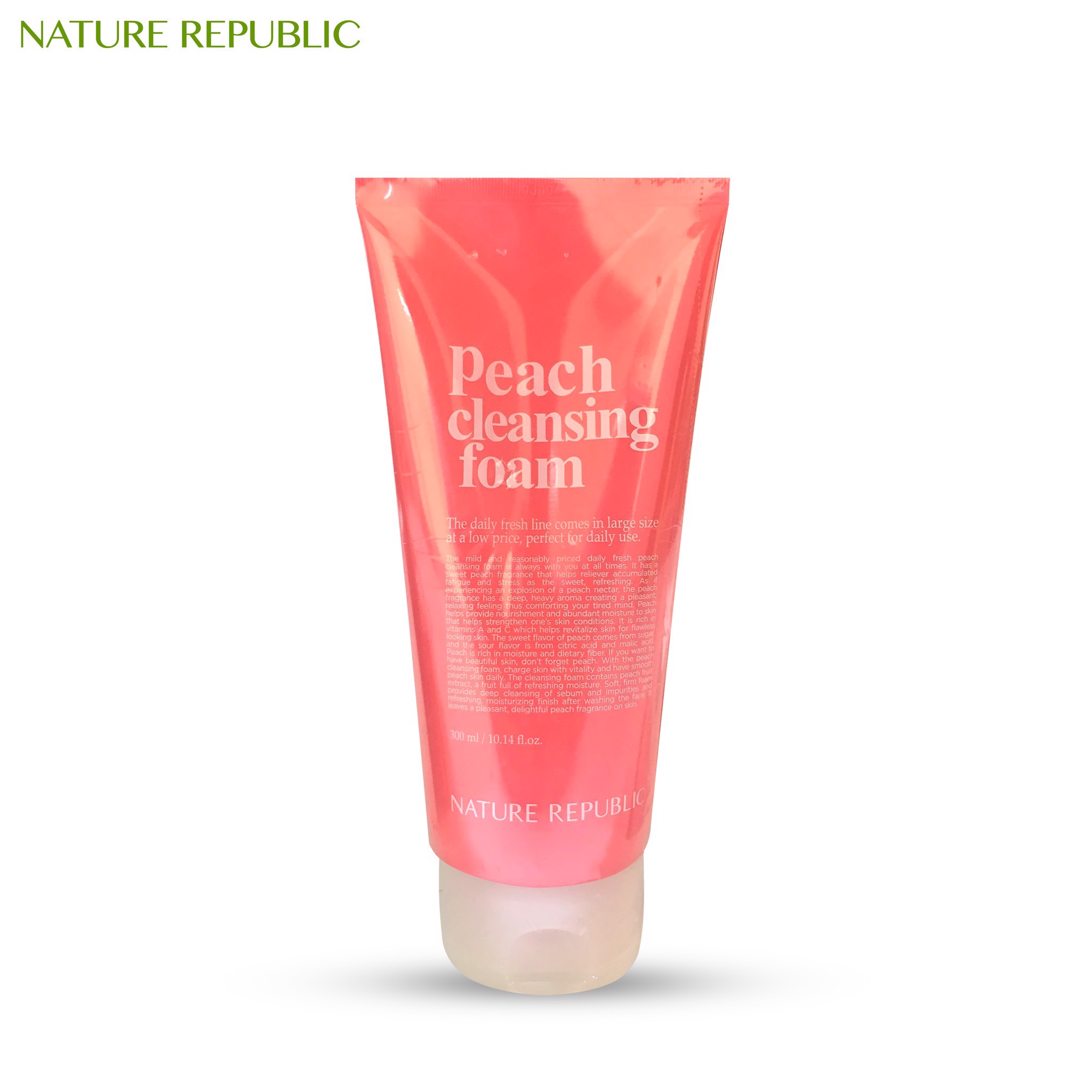 DAILY FRESH PEACH CLEANSING FOAM
