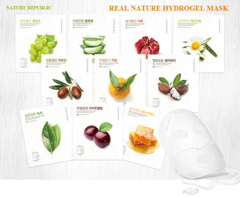 Mặt nạ dạng gel REAL NATURE HYDROGEL MASK