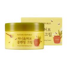 Kem massage HONEY & HERB CLEANSING CREAM