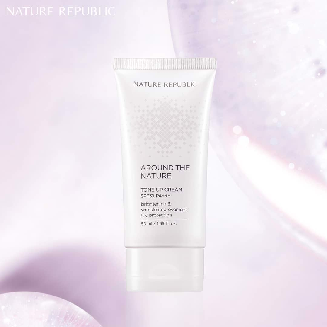 AROUND THE NATURE TONE-UP CREAM
