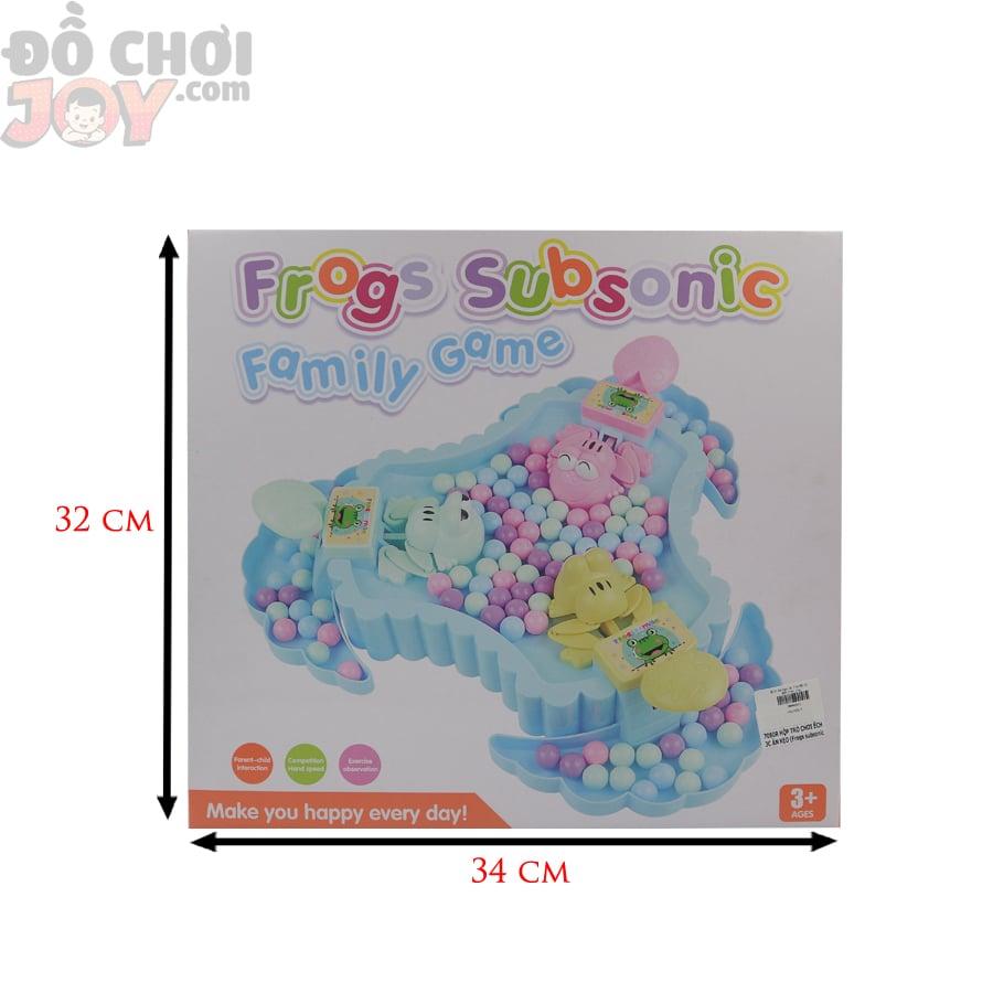 Hộp trò chơi Ếch ăn kẹo - Family Game - Đồ chơi nhà trẻ mẫu giáo