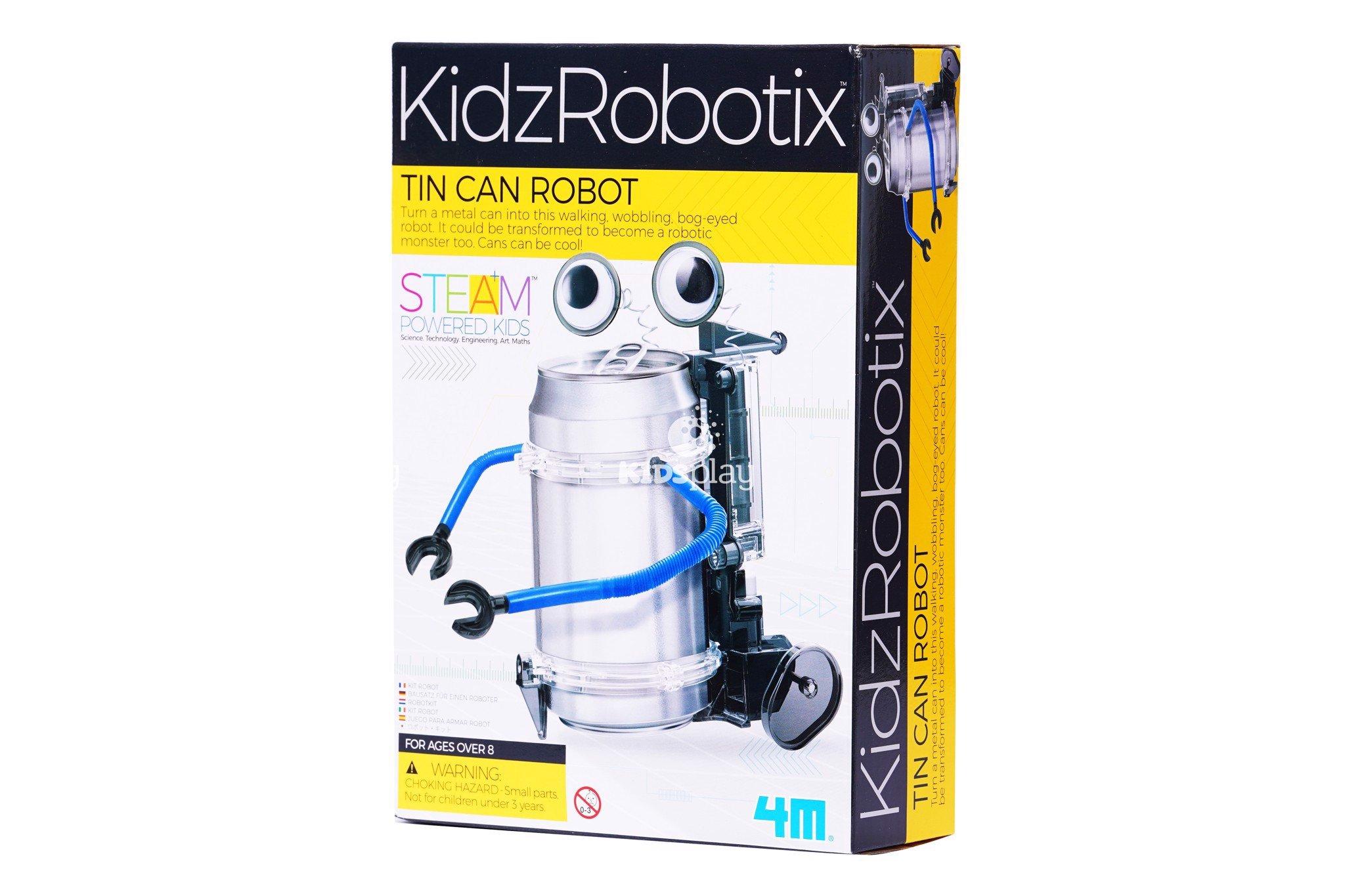 Robot Nhạc Công - Tin Can Robot - Đồ chơi khoa học vui