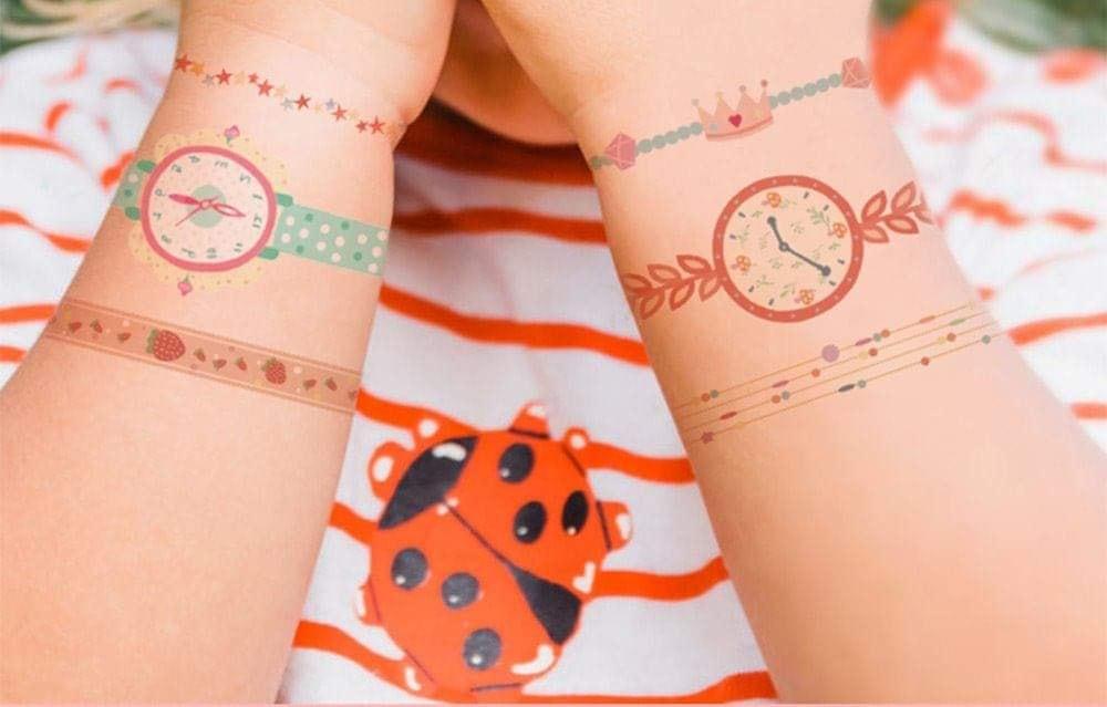 Hình dán đồng hồ Mideer- Đồ chơi trẻ em