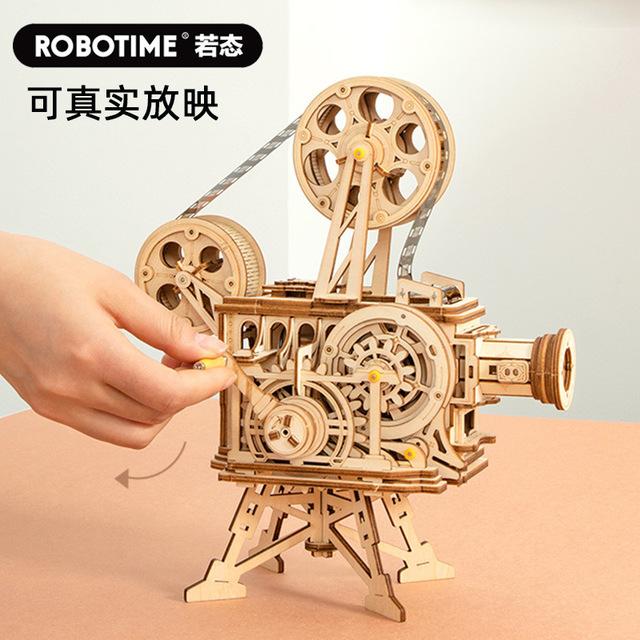[Hàng Order] Bộ lắp ráp 3D mô hình máy chiếu phim cổ