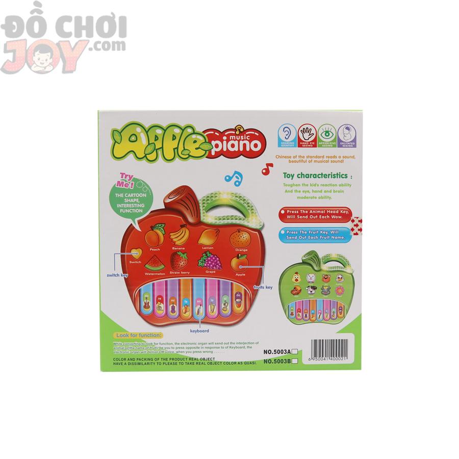 Nhạc cụ đồ chơi cho bé - Hộp đàn Organ táo - Apple piano