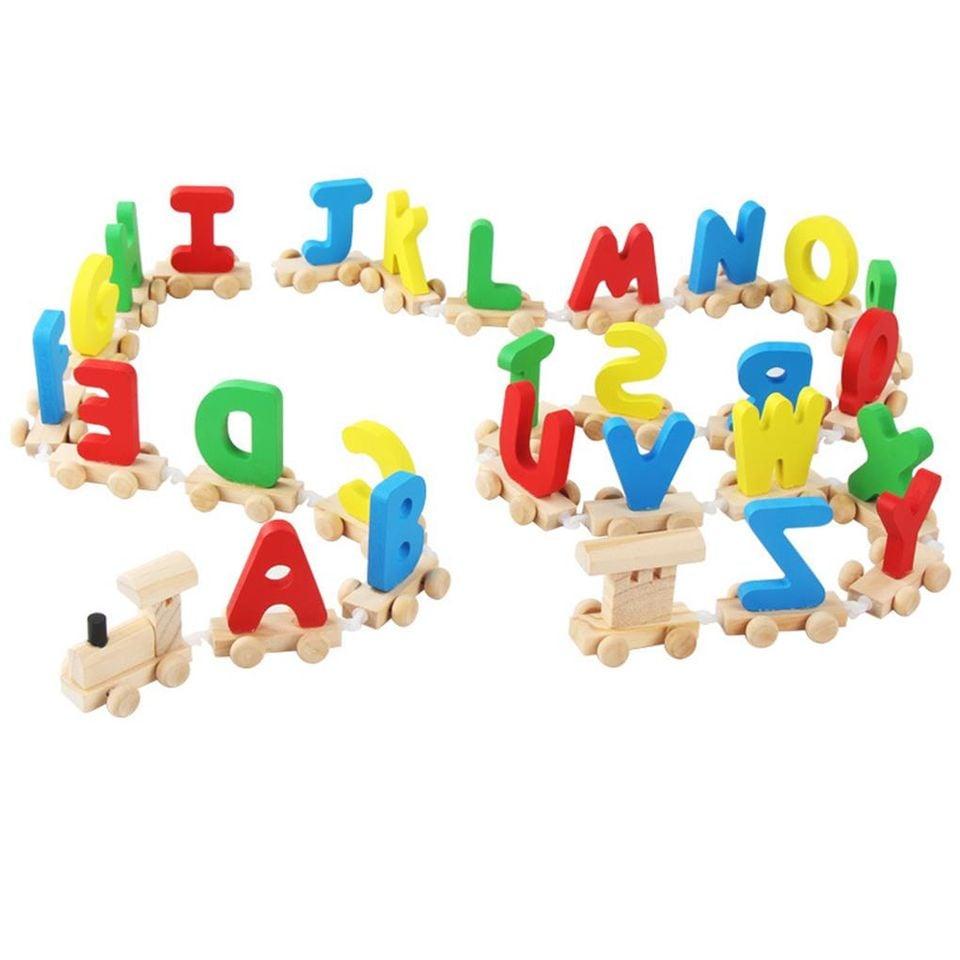 Alphabet Trains - đoàn tàu chữ cái