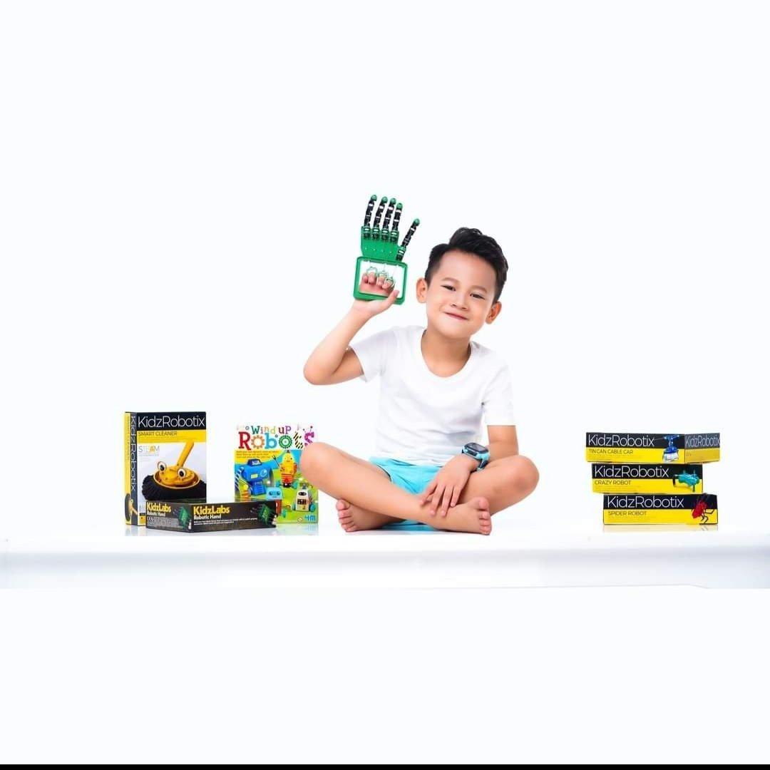 Bàn tay robot - Robotic hand - Đồ chơi thông minh cho bé