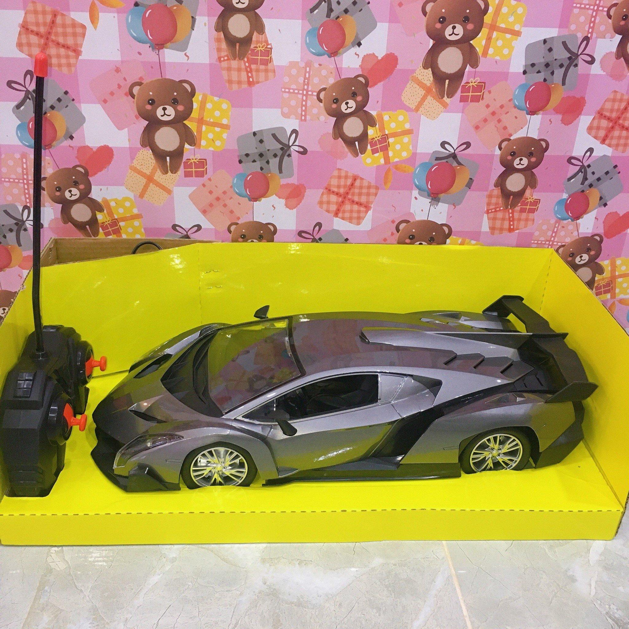 Hộp Xe Hơi Lamborghini Đk 7 Đ.Tác, Có Sạc Tl 1:12 (Emulation Car Model) 34-4, 34-6